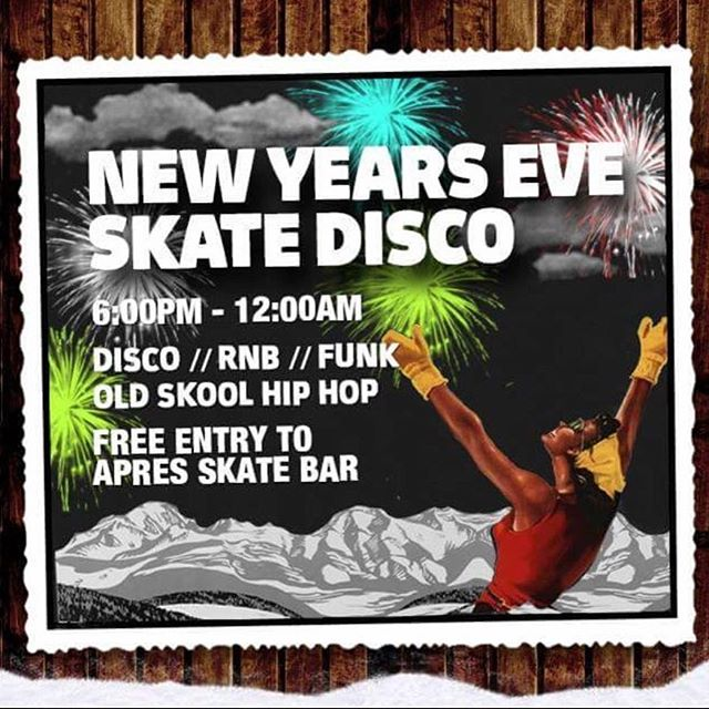 We are proud to announce our @ice_skate_bournemouth  New Years Eve Skate Disco Skating until 10pm, bar until midnight  #bournemouth #icerink #iceskate #christmas #skating #skibar #newyearseve #fun #family #music #drinks #partytime
