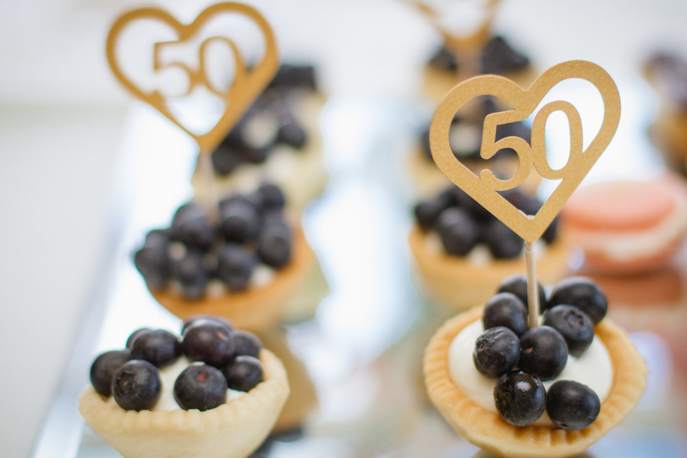 Blueberry Mini Tarts