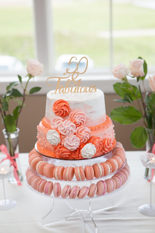 Specialty Macaron Cake