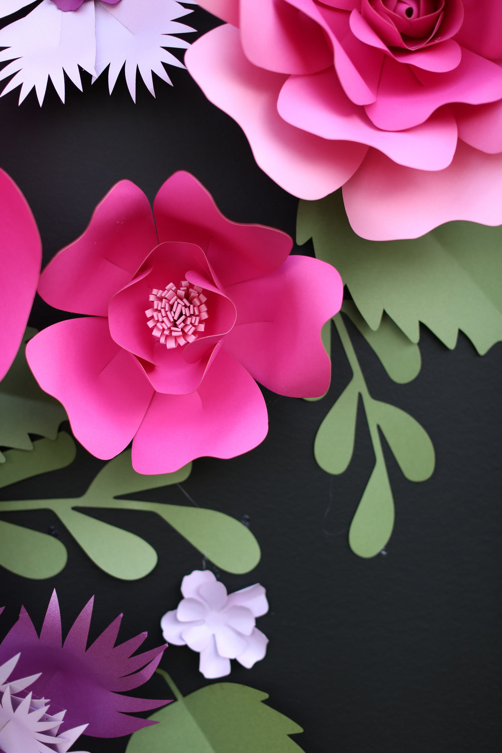 Chalkboard_Backdrop_Giant Paper Flowers_ backdrop display_ dessert table backdrop _ Kate Spade inspired dessert table decor_ hot pink and purple flowers for backdrop _ chalkboard backdrop_unique 16.jpg