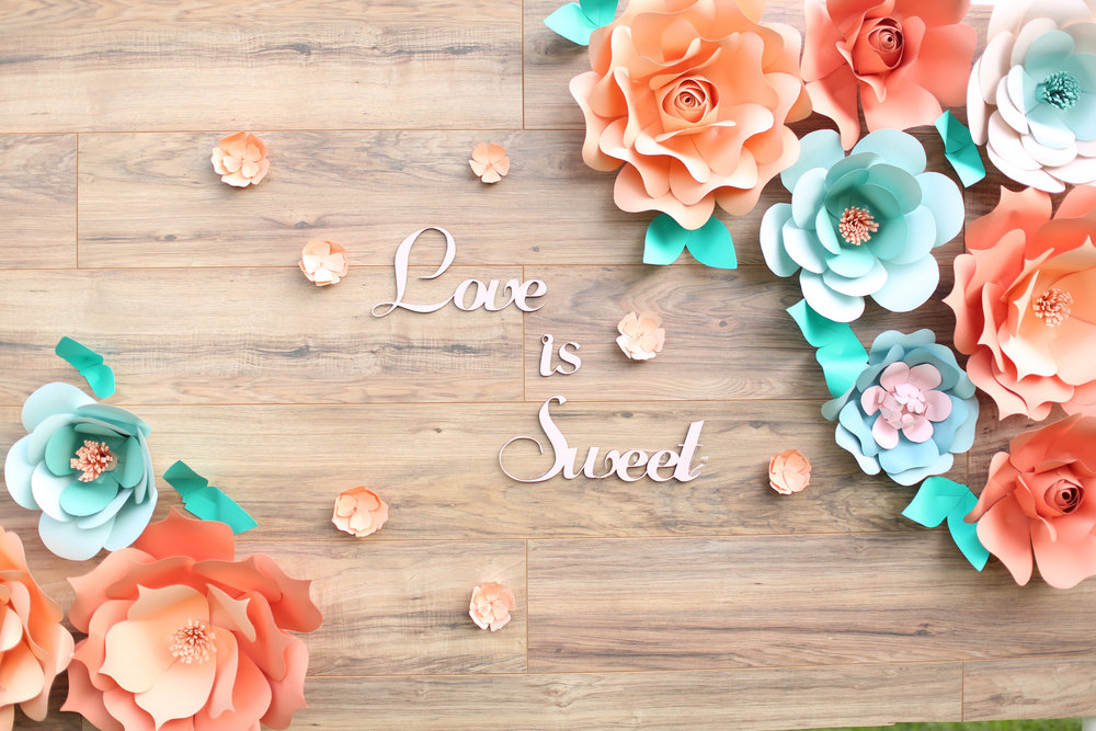 rustic giant paper flower backdrop_rustic wood backdrop_ pallette backdrop_peach and teal giant paper flower backdrop_ peach wedding dessert decor_ peach and teal wedding decor ideas_ unique rustic decor 13.jpg