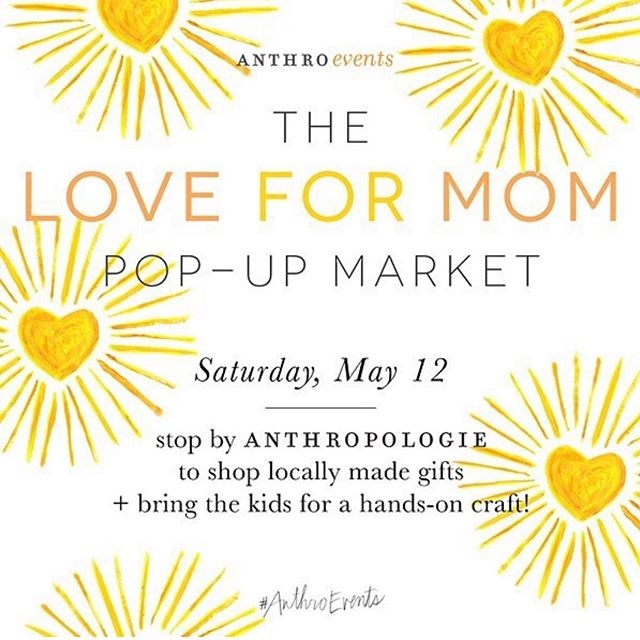 #repost @anthro_dc Super excited to join Anthropologie's Pop Up Market for the second time this weekend! We'll see you at The Chevy Chase location with our most delicious macarons for your mama ♥️♥️♥️ #mysweetarray #anthrochevychase #anthropologie #anthroevents #acreativedc #thisweekend