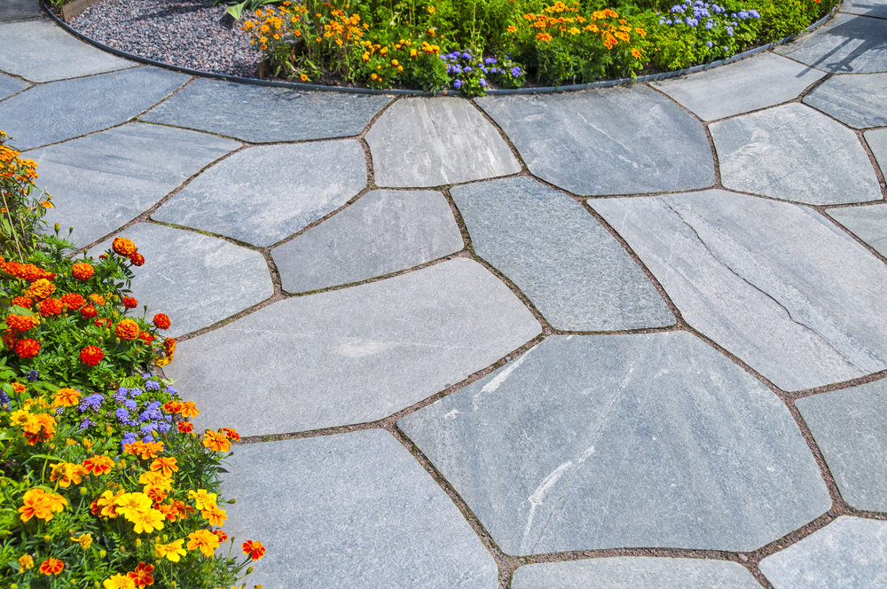 Walkway's - At Stone Creek, we can offer a wide variety of walkway options depending on your needs and wants. We work with flagstone, Belgard stone, wood, and breeze gravel walkways.