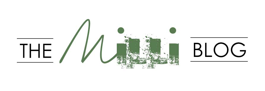 Our original logo for The Milli Blog