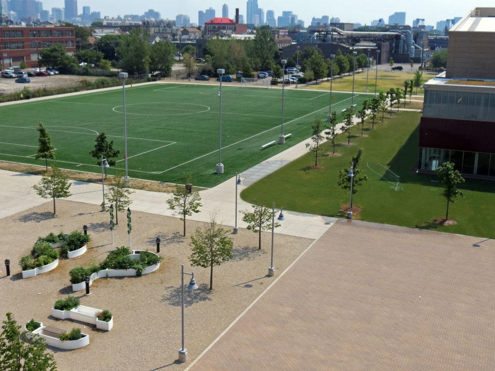 Benito Juarez Community Academy Addition & Athletic Fields