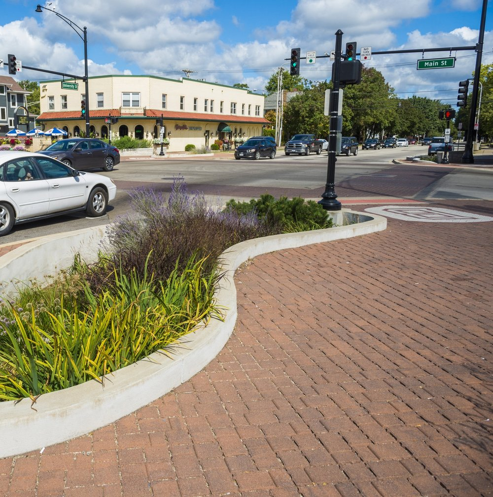 Main & University Intersection Improvements