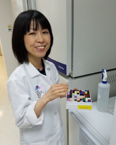 Motoko Yasutomi, MD, PhD - Postdoctoral Fellow