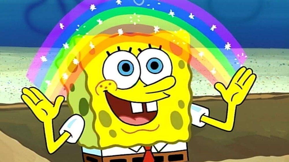 spongebob rainbow meme video 16x9 stephalope