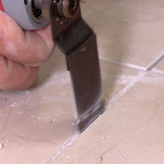 Grout repairs can prevent tile damage.