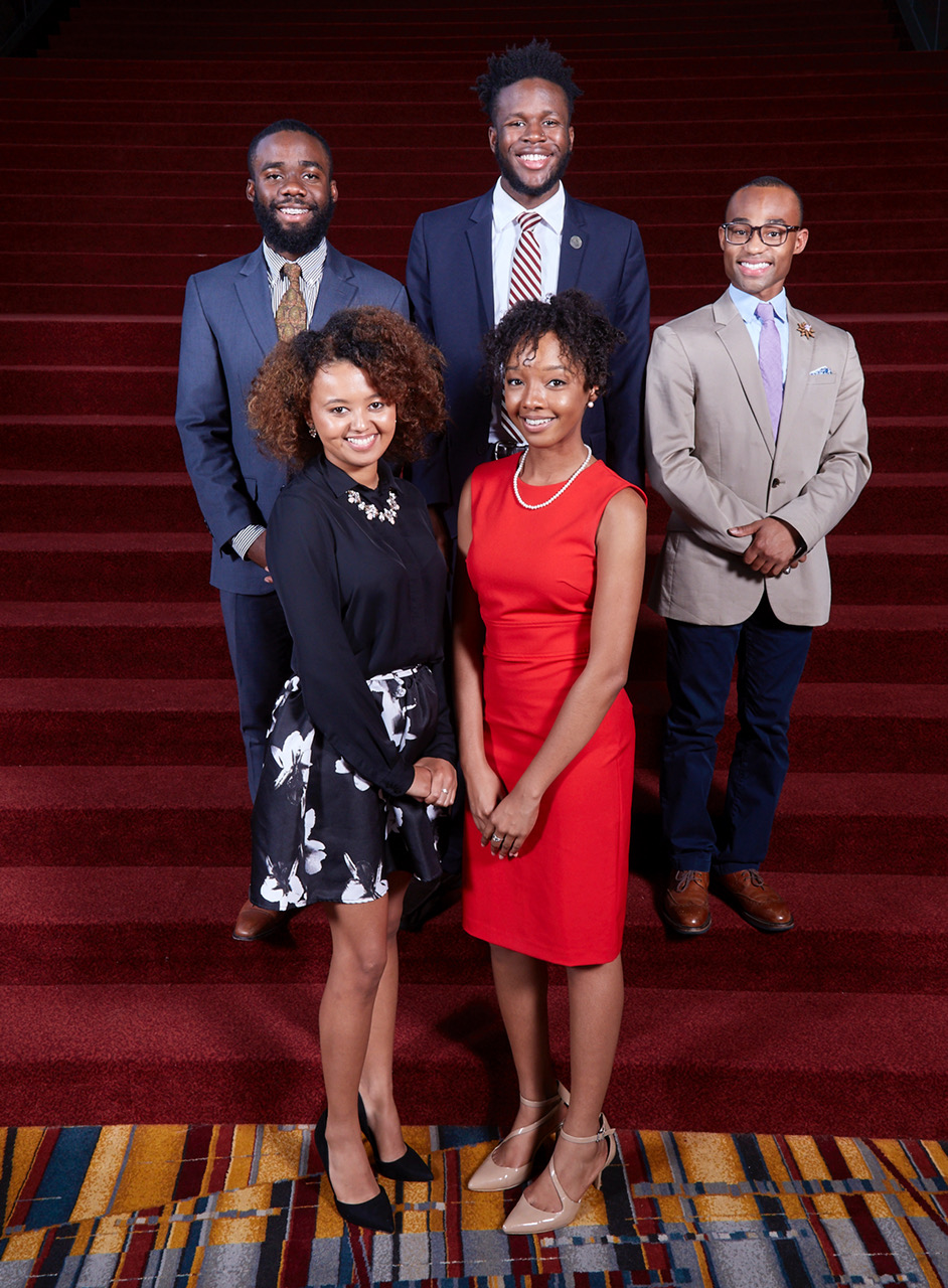 UNCF/Mellon Mays fellows at LANS 2017
