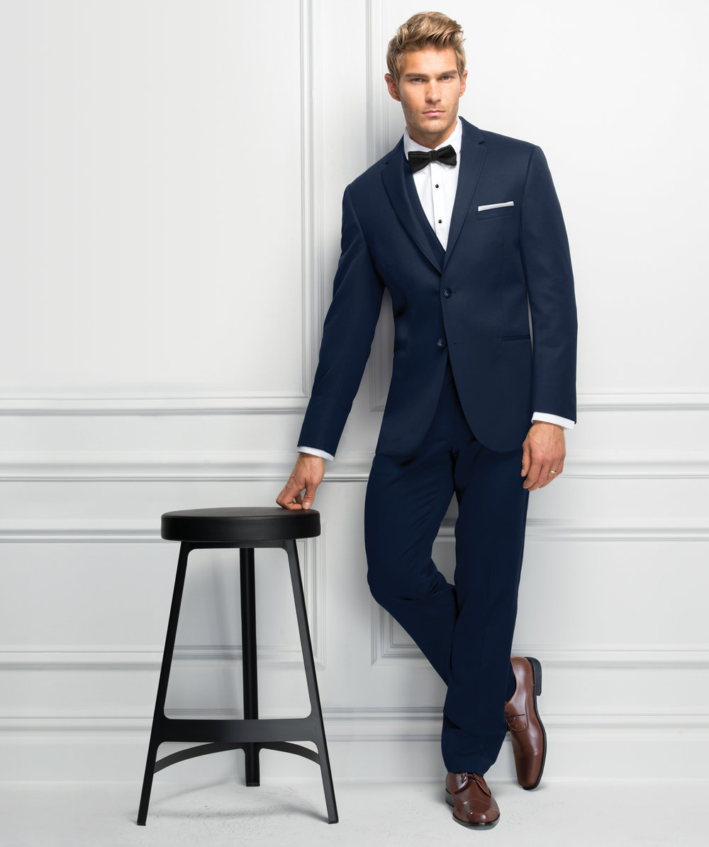 Ultra Slim Navy Sterling Suit by Michael Kors