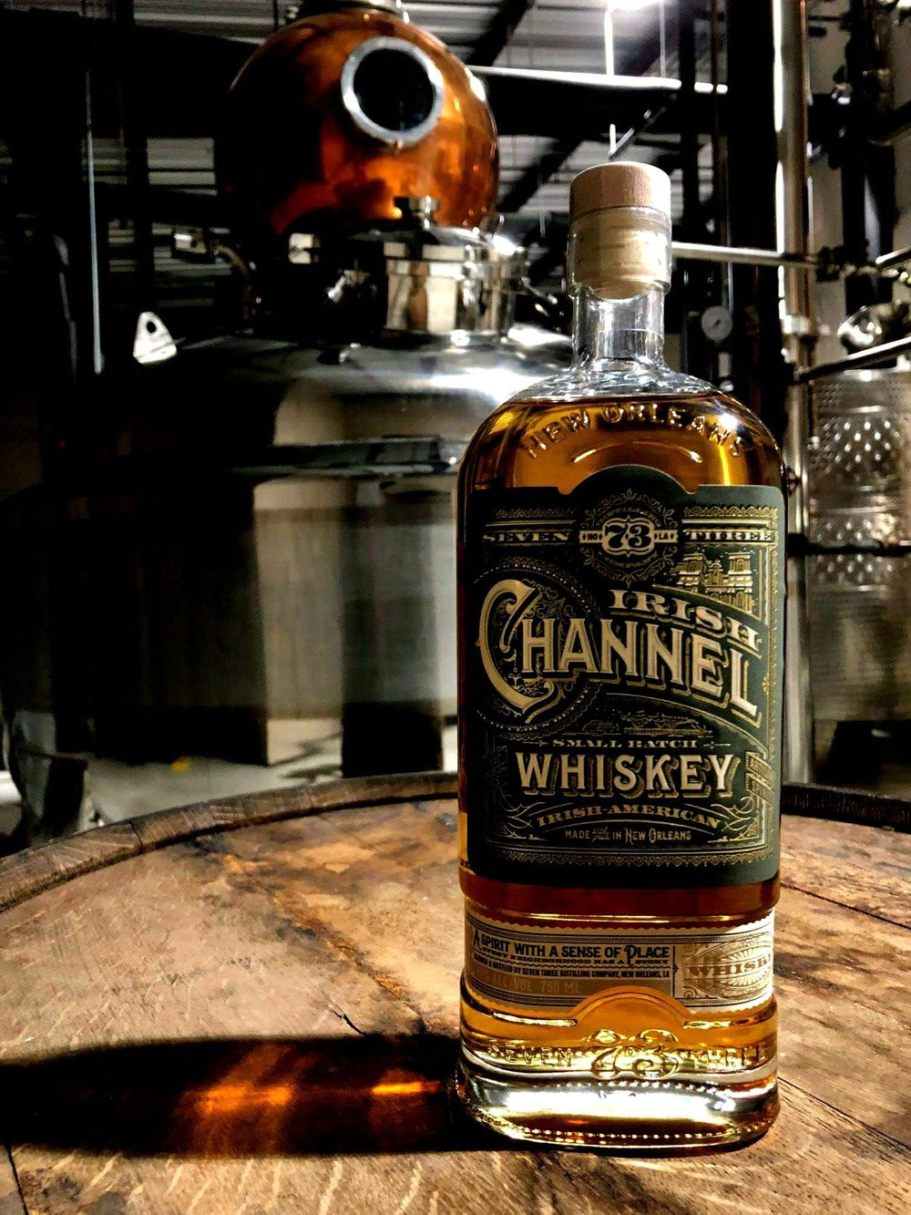 Irish Channel Whiskey by 73 Distillery