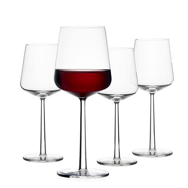 IITTALA WINE GLASSES Austrian designer Alfredo Häberli designed Essence for Iittala in 2001.  Essence is among the most highly acclaimed glassware in the world, and has won both the iF Award and Les Découvertes Award.