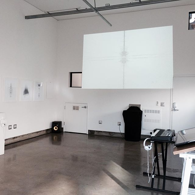 The Archimusic Exhibition at @sbcast in September 2017. This show featured interactive components allowing visitors to learn play a keyboard and watch the  corresponding harmonic structures grow and modulate, while others could navigate through the structures in a 3D environment. Drawings and soundscapes were also on display.