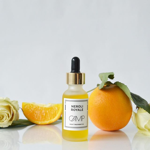 Hands down, the most divine facial oil you'll ever try: Neroli Royale Night Treatment Oill 🌟with the finest plant oils including Prickly Pear Seed Oil, Virgin Plum Seed Oil, Chia Seed Oil, Rosehip Seed Oil, Neroli Flower and Vanilla.