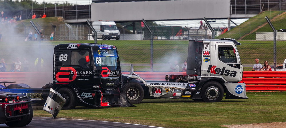 No Parking Here Please| British Truck Racing Silverstone 2015