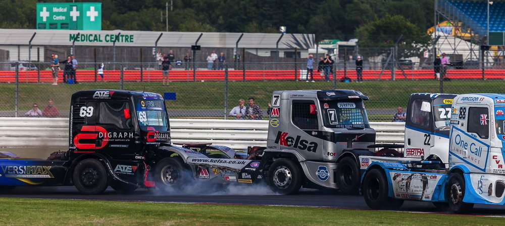 Normal day on the M25 | British Truck Racing Silverstone 2015