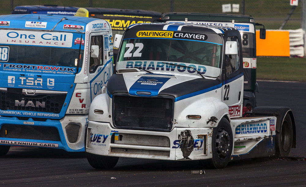 How Close!! | British Truck Racing Silverstone 2015