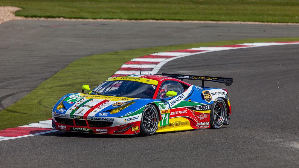 James Calado (GBR) AF Corse Ferrari F458 Italia