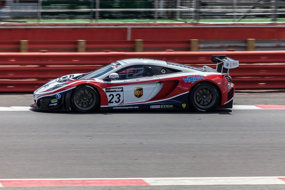 United Autosports No 23 McLaren MP412C | Zak Brown/Alvaro Parente