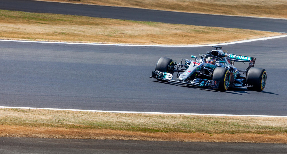 Some Hammer Time!! Lewis Hamilton in the No44 Mercedes AMG Petronas
