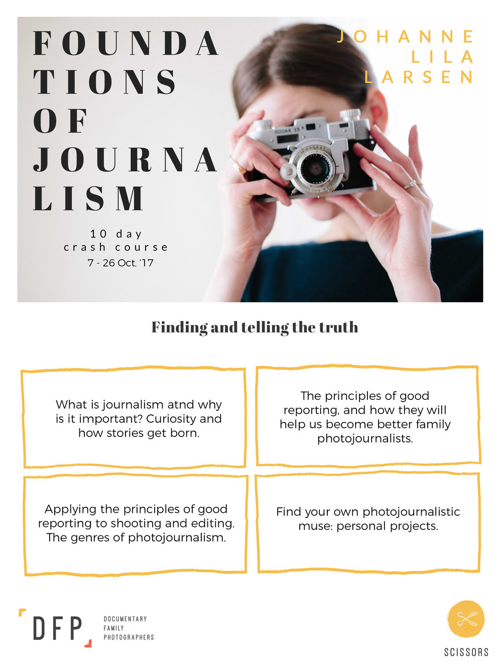 foundations of journalism course