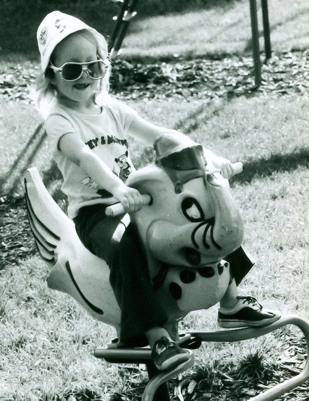 Nicki when she was a kid
