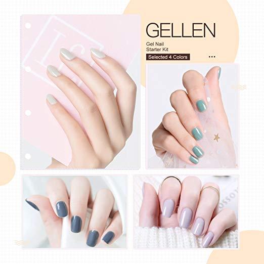 Gellen Gel Nail Polish Starter Kit