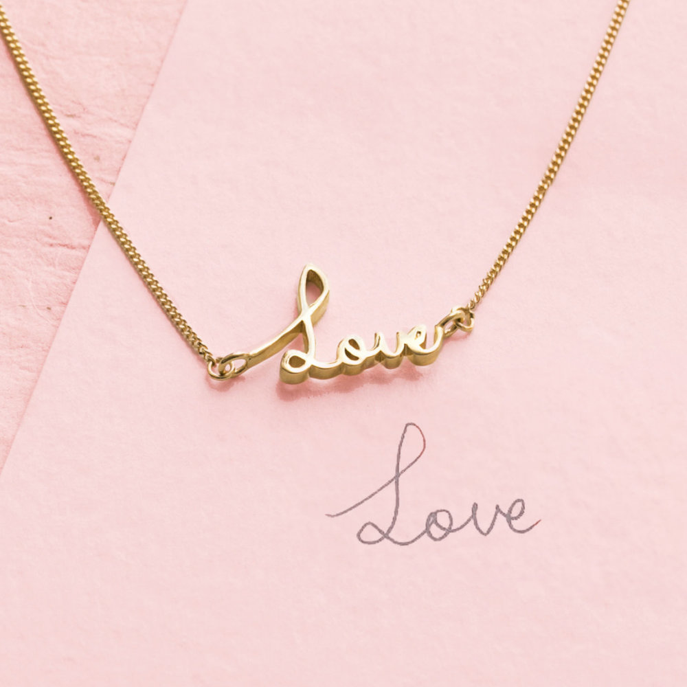Custom Signature Necklace: An everyday staple, the signature necklace can be customized with any unique handwriting, font, or using our default signature font. Perfect for baseball autographs!