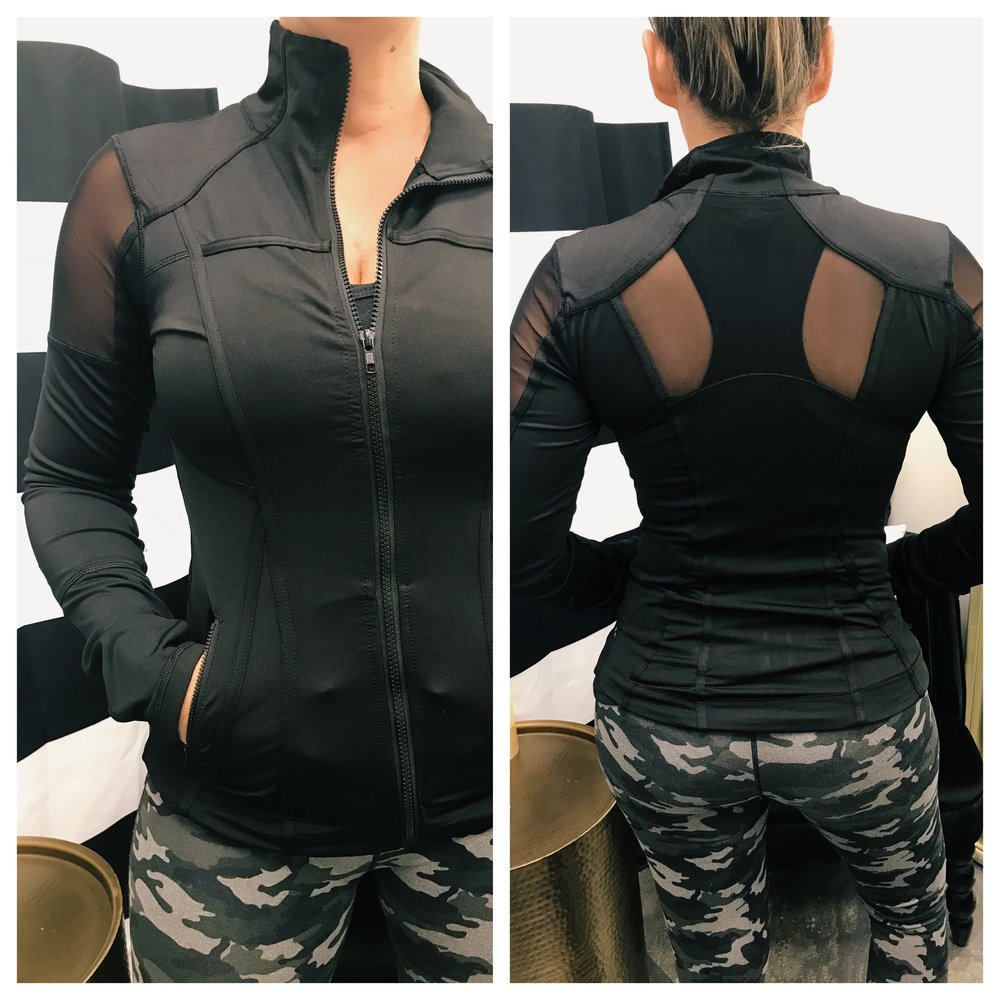 Lory's Favorite - My favorite piece from The Ash is the Peak Jacket! As soon as I set eyes on it, I knew I would love it! It's fitted but not too tight. I love the silky soft material. Figure flattering lines with cool cut out mesh on the arms and back. I always complain that no one makes a short sleeve jacket but this one is so light I can wear it year round in Florida. It's stylish and functional. You won't be disappointed! It's perfect!