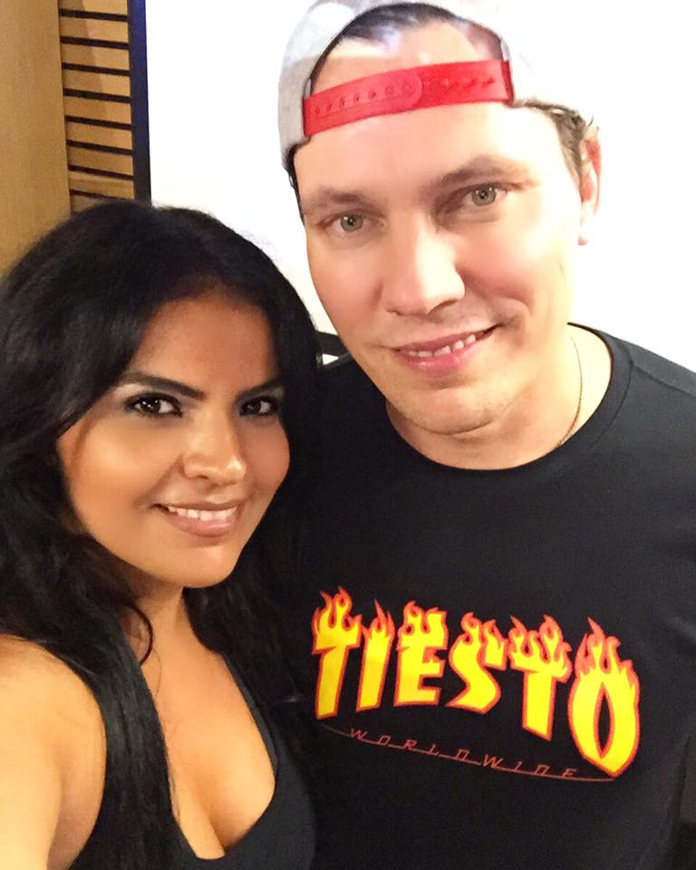Backstage at Tomorrowland in Belgium! - VASSY performed during Tiësto's Tomorrowland set to debut her new record