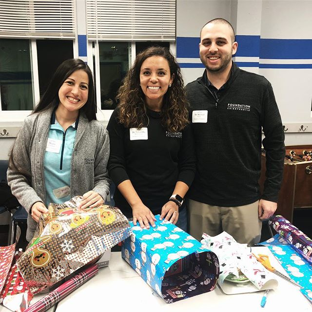 'Tis the season! We were elves last night helping wrap donated gifts for the Boys and Girls club with @carlsbadchamber! We love being able to get out and help in our community!