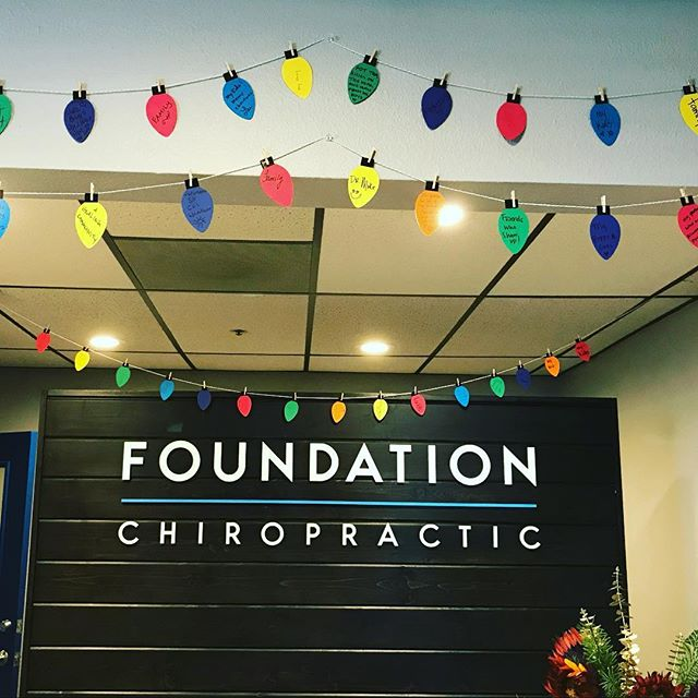 This year we asked our patients to write down what brings them joy and they lit up our office! 💛 ✨✨✨✨✨✨✨✨✨ Our holiday hours will be: Closed 12/24, 12/25, 12/26 OPEN 12/27, 12/28, 12/29 Closed 12/31, 1/1, 1/2 OPEN 1/3, 1/4, 1/5 ✨✨✨✨✨✨✨✨ #happyholidays #besafe #lightsofjoy #love #happiness #friendships #smiles #health #weloveourpatients #chiropractor #carlsbadvillage #carlsbad #adjustments