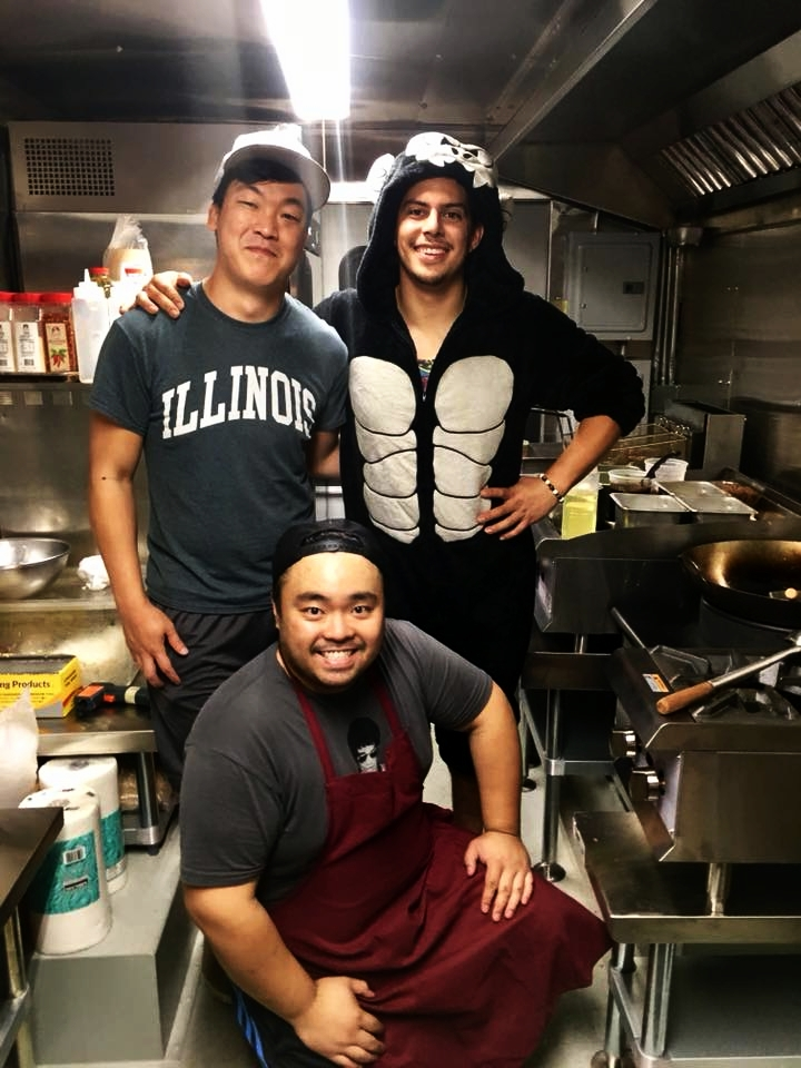 The Big Wang's Food Truck team.