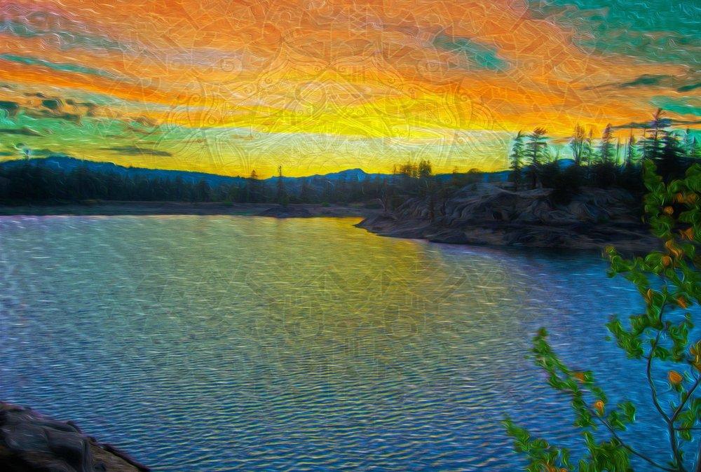 Lake on LSD