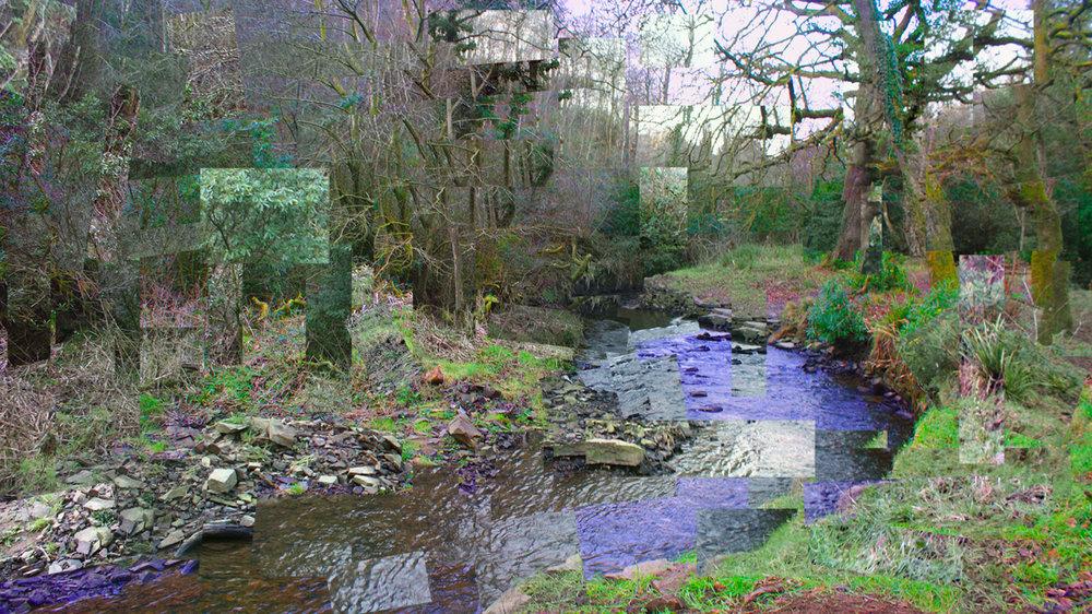 Cubist welsh woods