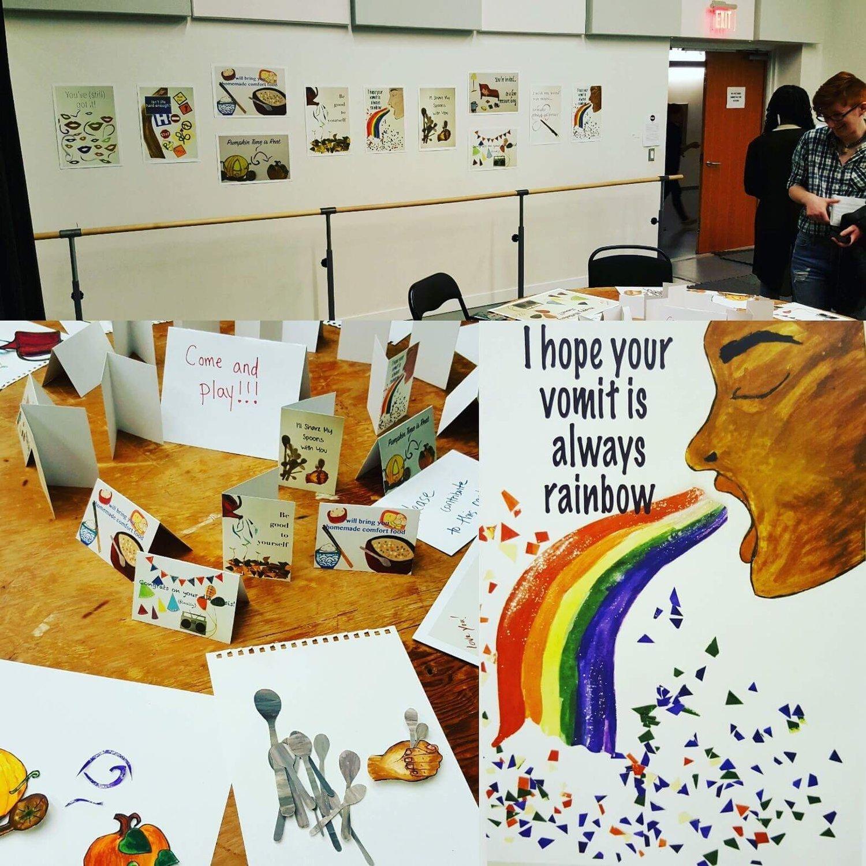 Crip Care Cards : Feminist Art Residency May 2017 — Kate Welsh