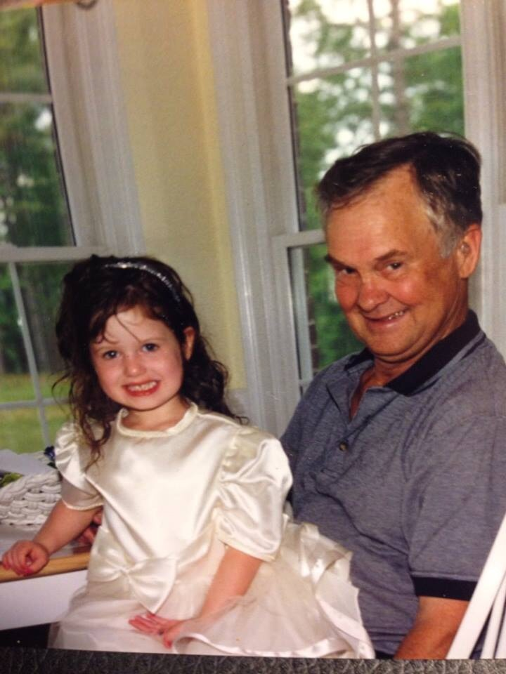 this is me and my papa. this is why photos do not ever die. the memories will never fade away, and they will only gain more value as time goes on. -