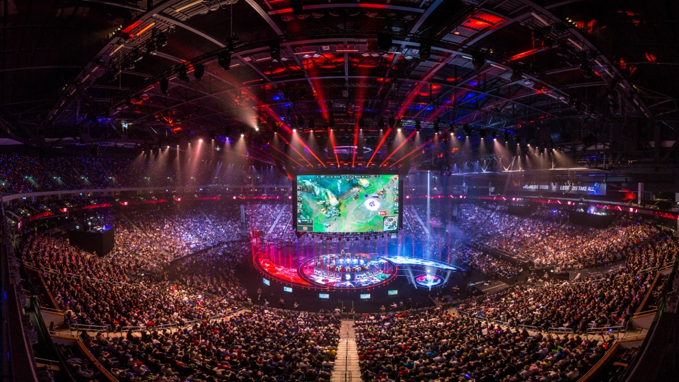 League of Legends World Championship 2015.  Attendance: 13,000.   Not pictured: Well over 13 Million online viewers.