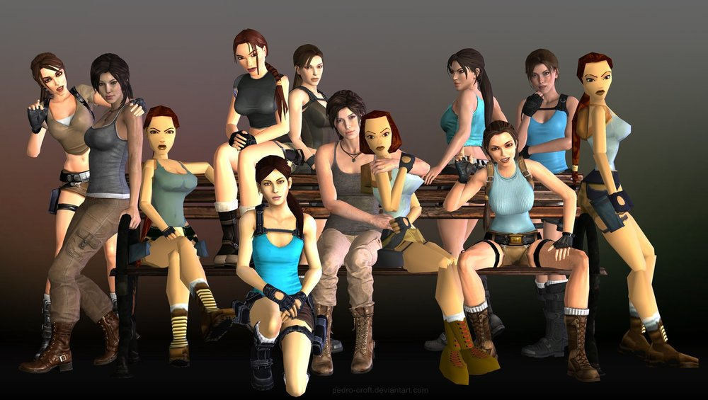 The game industry has always been under scrutiny for its hypersexualization of female characters like Lara Croft.
