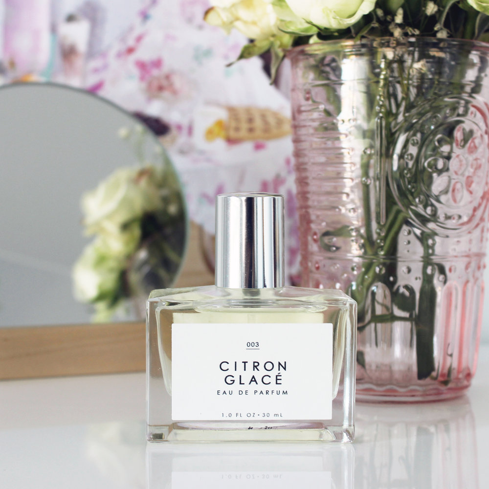 Gourmand Fragrance in Citron Glace