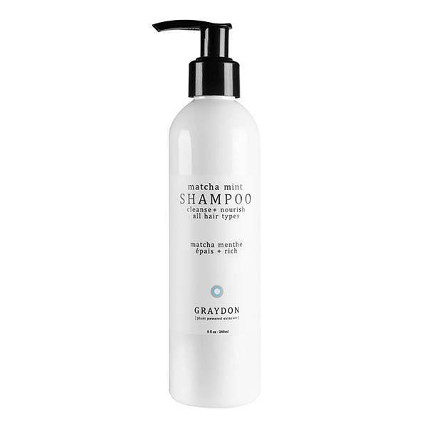 Graydon Skincare Matcha Mint Shampoo