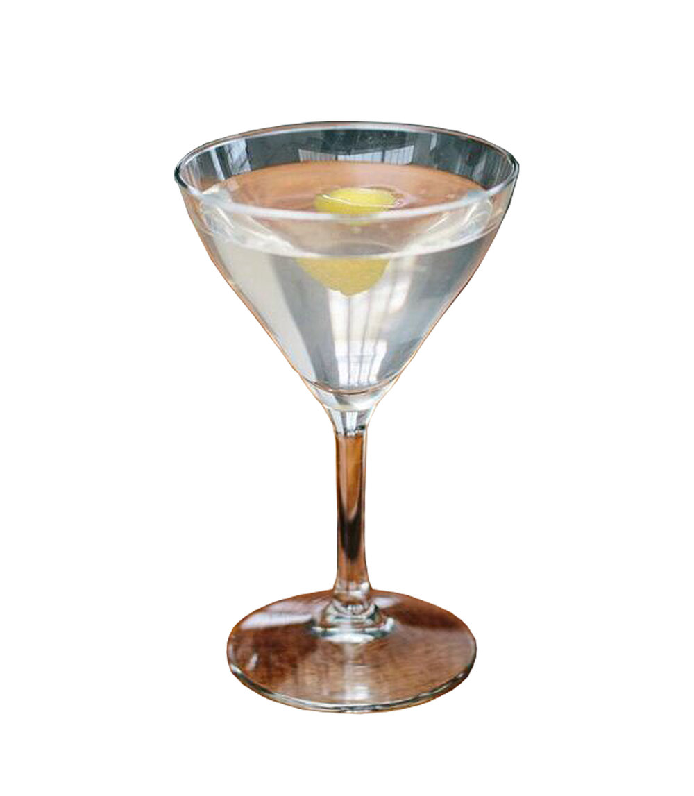 MARTINI  2 dashes Orange Bitters 30ml Dry Vermouth 60ml Norseman Gin  Stir with ice until desired taste and decant into a martini glass. Garnish with a lemon coin.