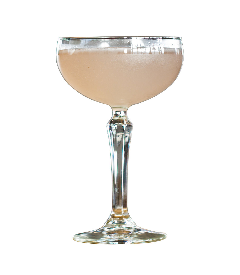 AVIATION  3mL Norseman Creme de Fleur 10mL Norseman Cherry Liqueur 25ml Fresh Lemon Juice 50mL Norseman Gin  Shake with ice and strain into a coupe glass. Float a single ice cube on the drink.