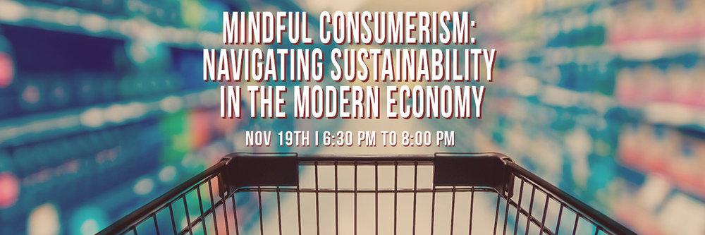 Mindful consumerism