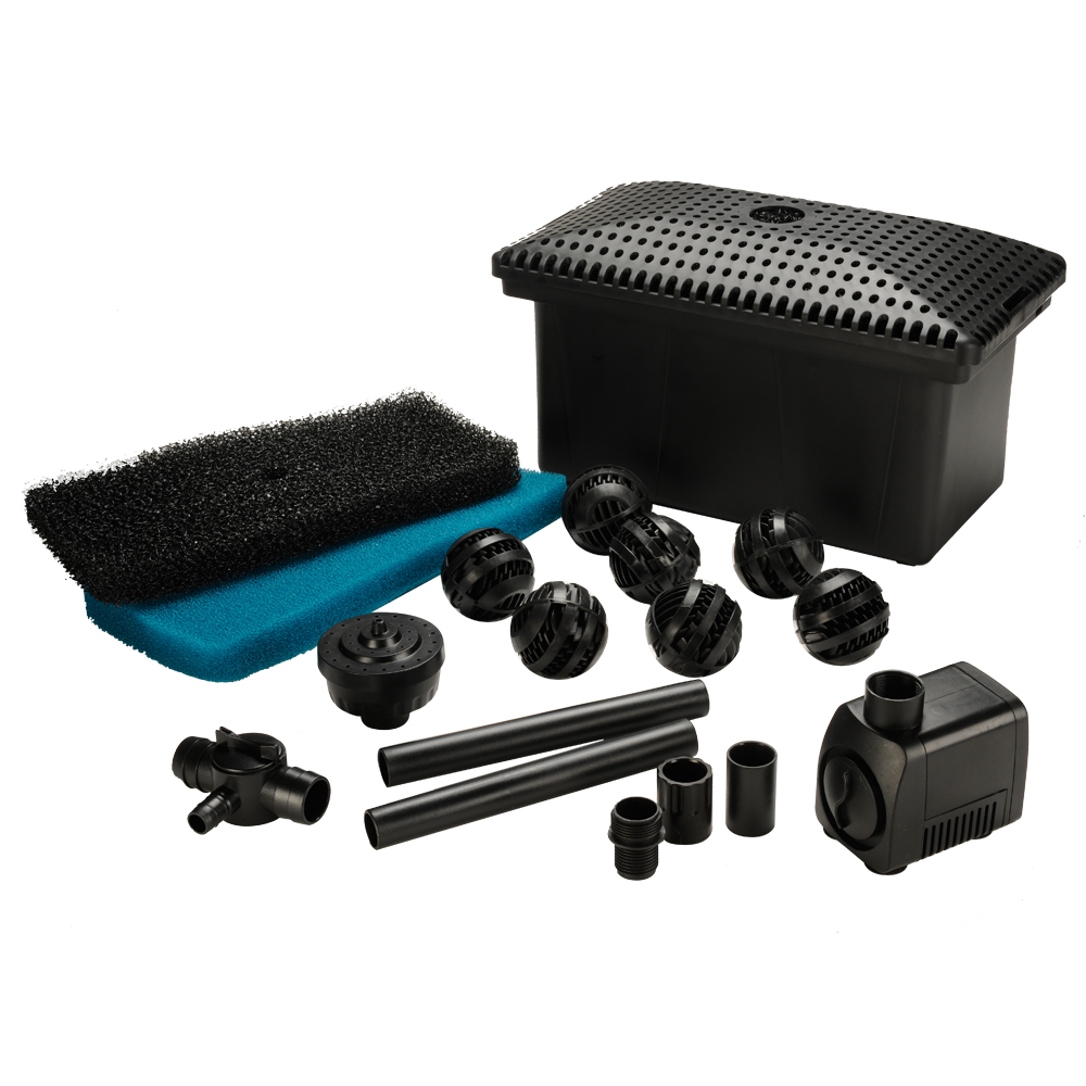 Complete Filter Kit with 300 GPH Pump
