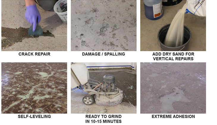 Repair System Polytek Of Redding - Cost of self leveling concrete floor