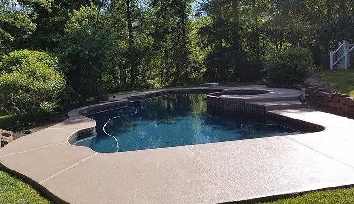 Pool Deck — Polytek of Redding - Floor Coatings