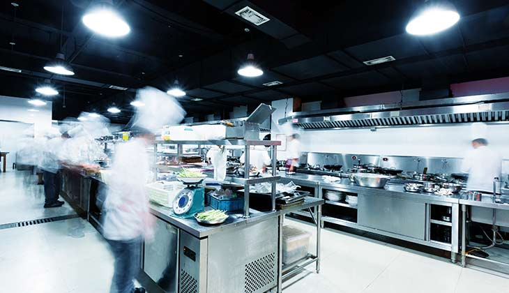 does the flooring in your commercial kitchen provide the safety style and easy maintenance that you need for a streamlined work environment - Commercial Kitchen