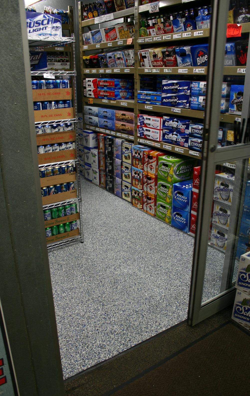 liquor store floor gravel.jpg
